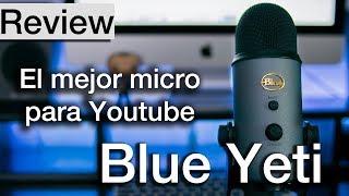 Blue Yeti Review y Unboxing en EspaГ±ol  Test de sonido