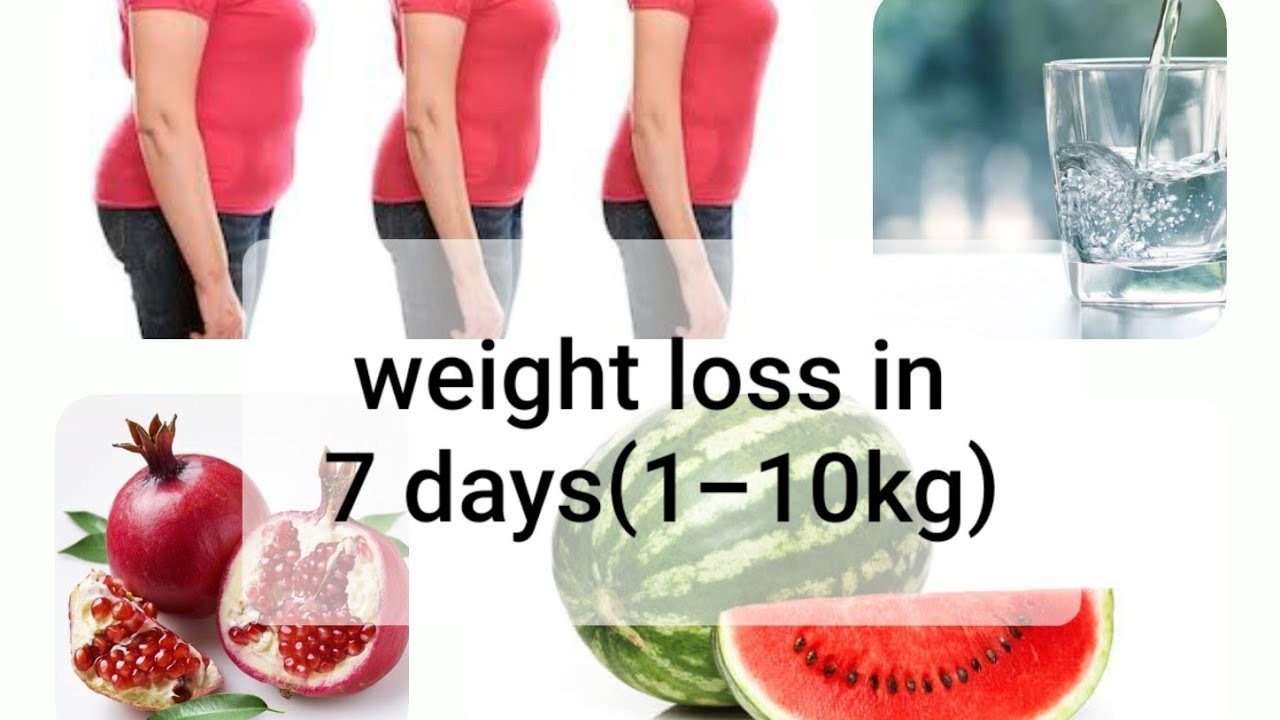 Fruit diet weight loss in 7 days