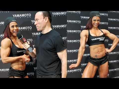 Jessica Reyes Padilla Interview at the Olympia Expo!