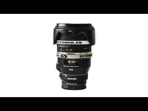Tamron 24-70mm F/2,8 VC USD on the Sony A7