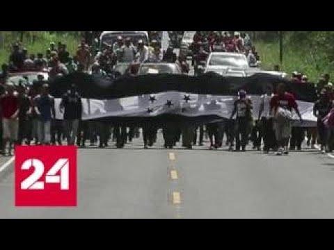На США из Гондураса надвигаются нелегальные беженцы – Россия 24