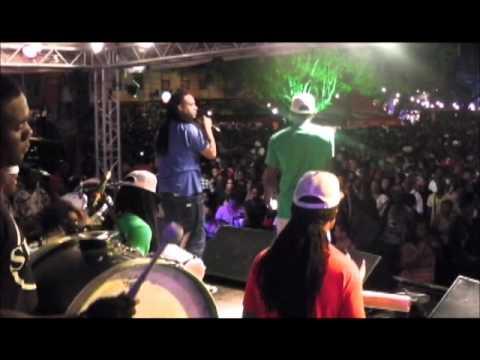 Se7en - compilatie live in Suriname 2011 Radio - Maripa Kondre - Zsa Zsa Zsu - 't Vat oudjaar