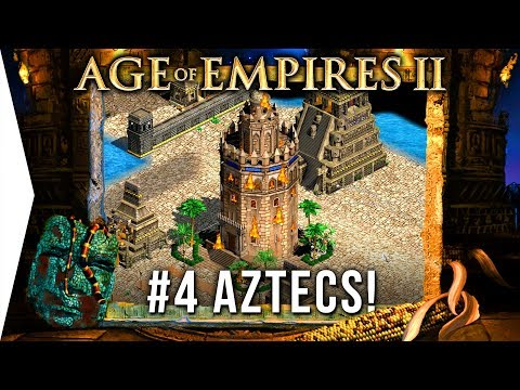 Are Aztec Monks Good? - Age Of Empires 2 HD ► #4 La Noche Triste - [AoE Aztec Campaign Gameplay]