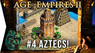 Are Aztec Monks Good? - Age of Empires 2 HD ► #4 La Noche Triste - [Aztec Campaign Gameplay]