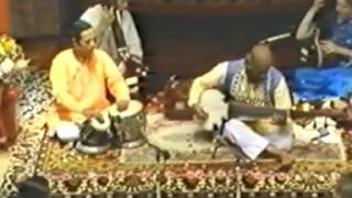 Ali Akbar Khan playing a Jhaptal in Rag Vindravani Sarang