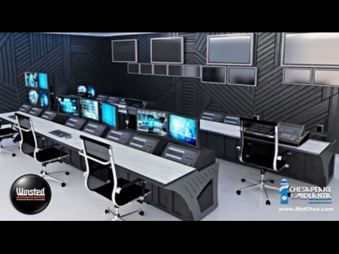 Command Center Furniture Design command center console design  youtube