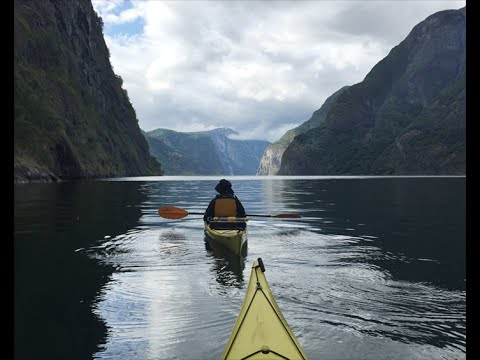 Kayaking in Fjord Norway (flam to gudvangen)