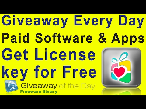 Get License Software & Apps for Free on Giveaway Site!