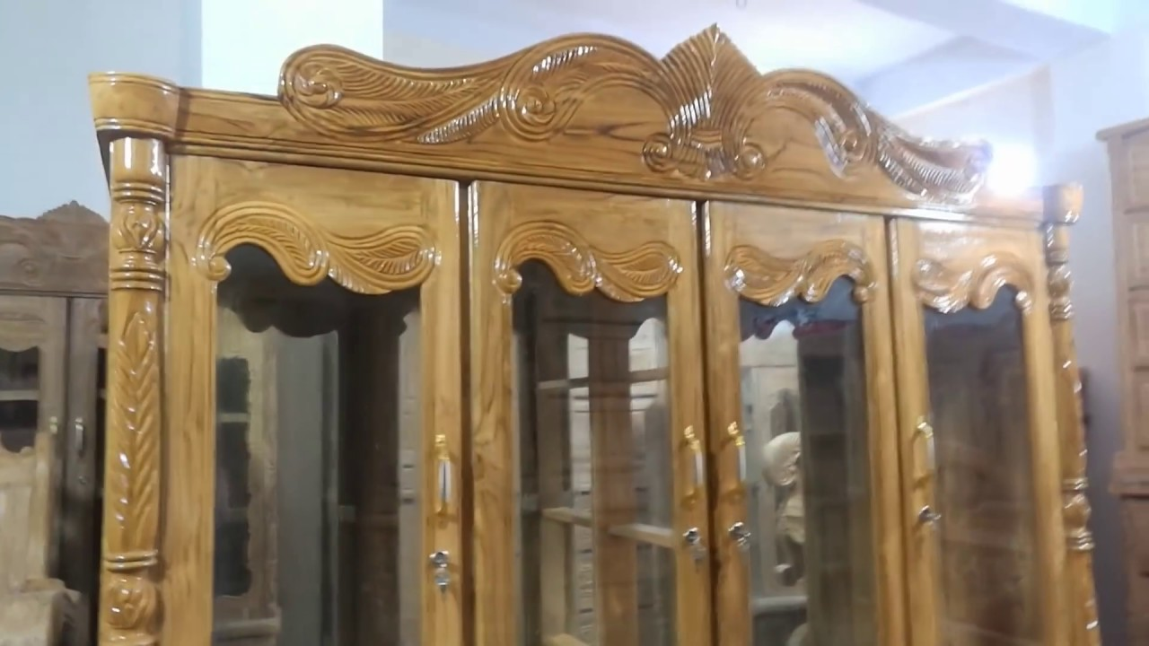 কেবিনেট ময়ুর ডিজাইন, খুব সুন্দর wooden cabinet designs ...