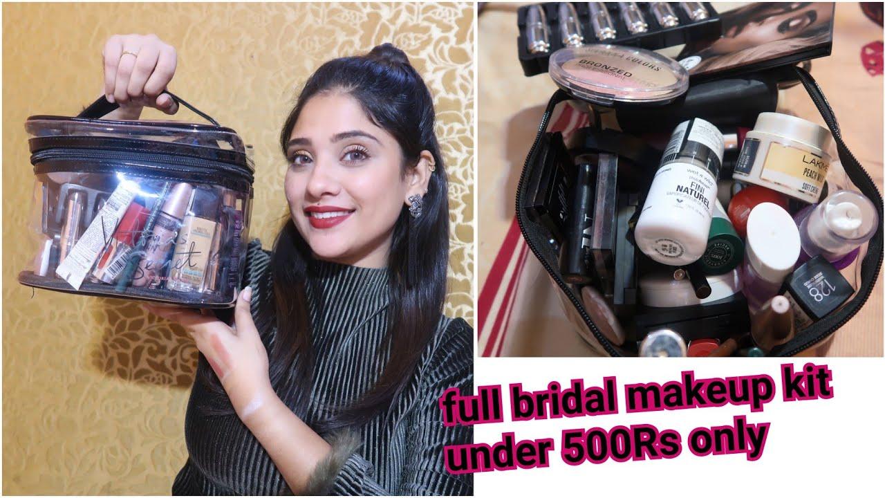 Under 500 complete bridal makeup kit || start 70rs.|| #Shadisaga series