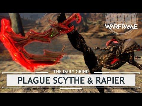 Warframe: Plague Scythe & Rapier - Operation Plague Star [thedailygrind] thumbnail