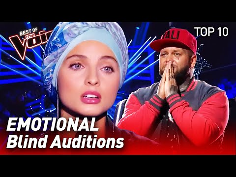 TOP 10 | MOST EMOTIONAL Blind Auditions in The Voice that ma