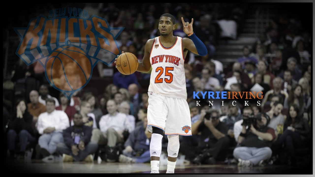 new product e69cd ab364 Kyrie Irving - Knicks Edit (Jersey Swap) - Punter Nation