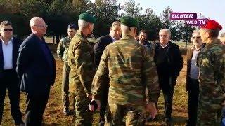 O Καμμένος στο κέντρο προσφύγων στο Χέρσο Κιλκίς-Eidisis.gr webTV