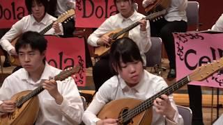 マンドリンオーケストラの演奏です。指揮:マンドリン部生徒 浜松市立高...