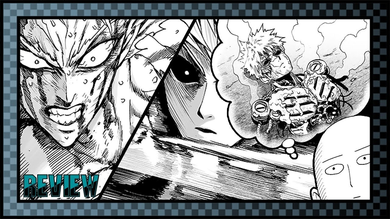 Anim One Punch Man Chapter 124 REVIEW