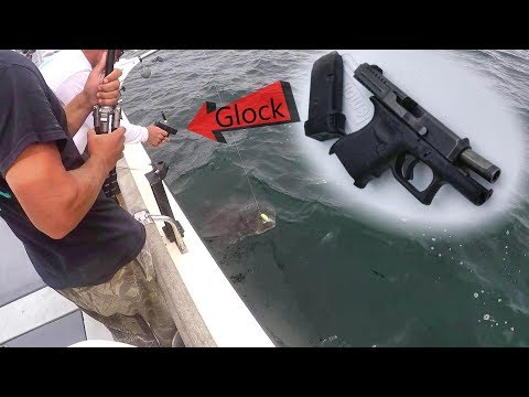 We Had To Shoot This HUGE Fish For Our Safety (100 Pounder!)
