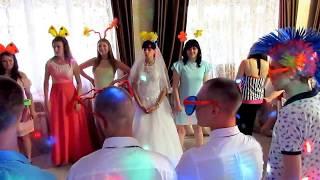 Танец зятя и тещи, танцевальный балт на свадьбе 2018 Запорожье ведущая тамада Мария