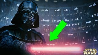 Star Wars CONFIRMS Why Darth Vader's Lightsaber Is Sometimes Pink - Star Wars Explained
