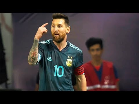 Lionel Messi vs Brazil 15/11/2019 HD