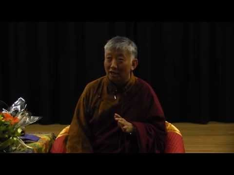 Dealing with Depression & Anxiety a Public Talk with Lama Choedak Rinpoche