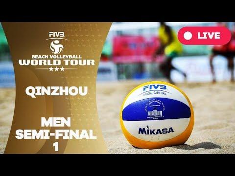 Qinzhou 3 -Star 2017 - Men Semi Final 1 - Beach Volleyball World Tour