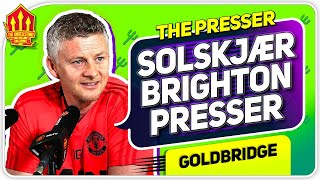 Solskjaer Press Conference Reaction! Manchester United vs Brighton