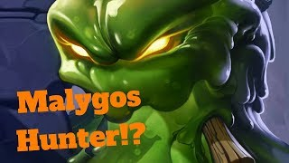 Malygos Hunter OTK!? Seeping Oozeling Meat Wagon Combo! [Hearthstone Game of the Day]