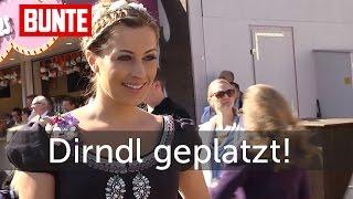 Verena Kerth - Dirndl geplatzt!  - BUNTE TV