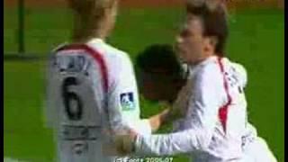 Serge Gakpe, Lille-Monaco, 1-1