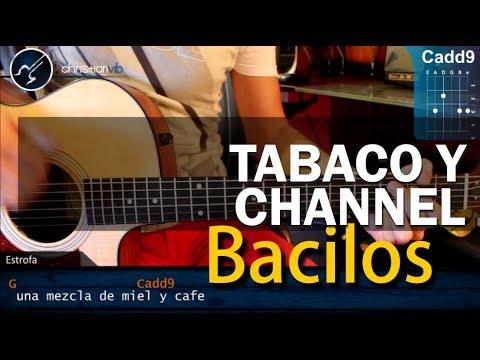 """Cómo tocar """"Tabaco y Chanel"""" de Bacilos en Guitarra Acústica (HD) Tutorial - Christianvib"""