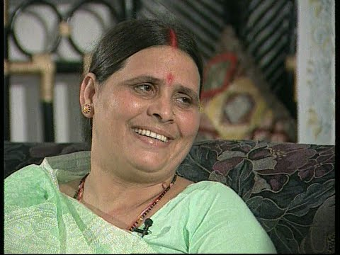 Interview with Rabri Devi