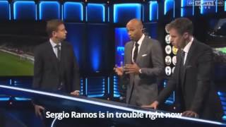 Thierry Henry explaining Pep Guardiola