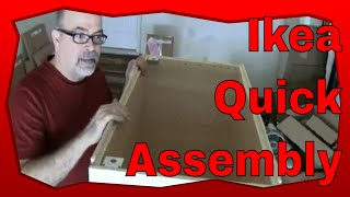 How to Assemble Ikea Kitchen Cabinets