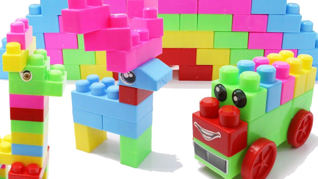 Building Blocks Toys For Children P2 Youtube