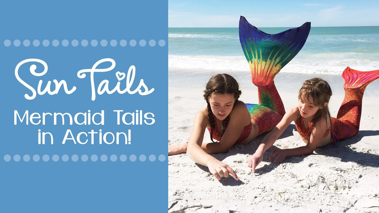 Mermaid Tails in Action! Sun Tail Mermaid