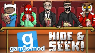 GMod Hide & Seek! - MOVIE THEATER ANIMATION FUN! (Garrys Mod Funny Moments)