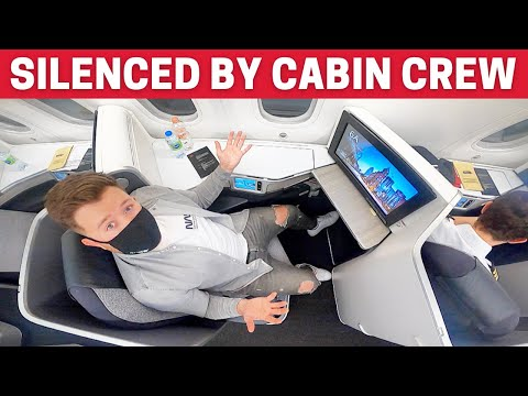 MY AWFUL Air Canada Business Class Flight *Silenced by Cabin Crew*