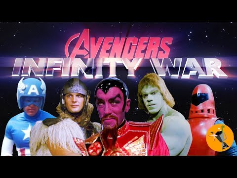 Avengers Infinity War Retro Trailer