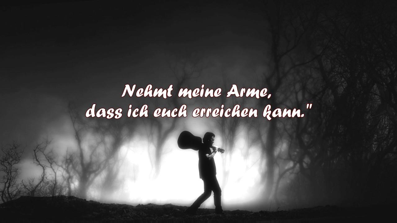 the sound of silence deutsch