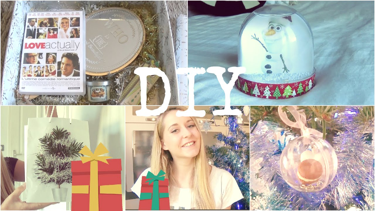 Diy Sp Cial No L 2 4 Cadeaux Faciles Faire Soi M Me Youtube