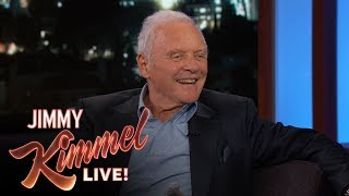 Anthony Hopkins Shares An  Mportant Life Lesson
