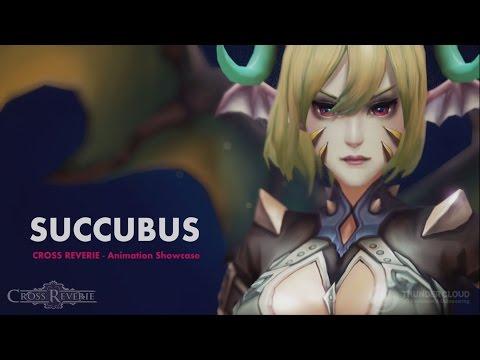 [Thunder Cloud] 3D Character Service - Succubus Animation