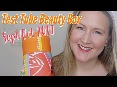 Test Tube Beauty Box   September/October 2019