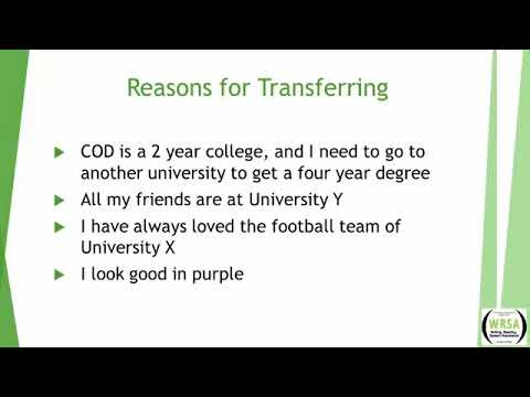 how to write a transfer essay  how to write a transfer essay