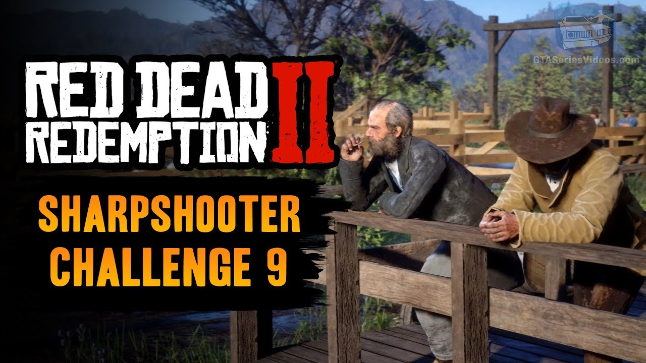 Red Dead Redemption 2 Sharpshooter Challenge #9 Guide - Shoot 3 people's  hats off with the Dead Eye
