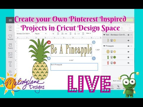 Create Your Own Pinterest Inspired projects in Cricut Design Space