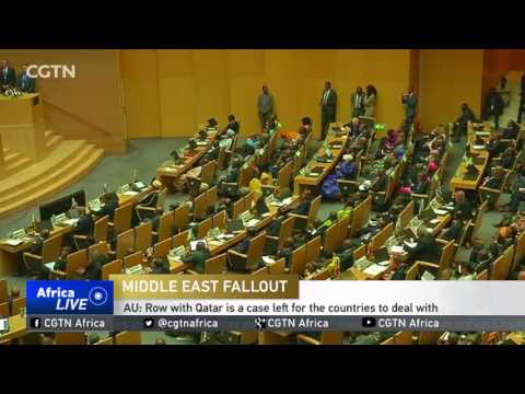 Middle East Fallout: AU believe row is a sovereign, bilateral issue for the countries