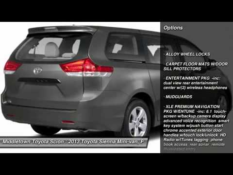 2013 Toyota Sienna Middletown Ct 1311459 Youtube