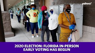 2020 Election: Florida in-person early voting has begun